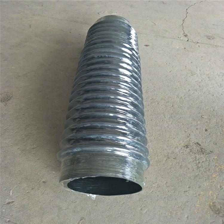 吸尘伸缩胶管钢丝骨架大口径夹布伸缩波纹管