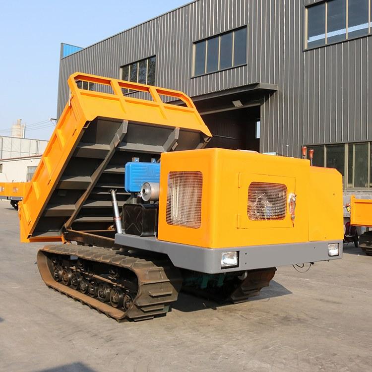河南履带式运输车5吨链轨车柴油动力