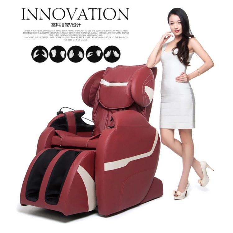广州全方位电动按摩椅定制找顺爱装饰     进口皮革多功能豪华按摩椅