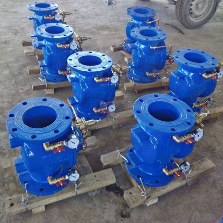 华恒厂家直销 先导式减压阀 可调式减压阀 消防专用200X水力控制阀