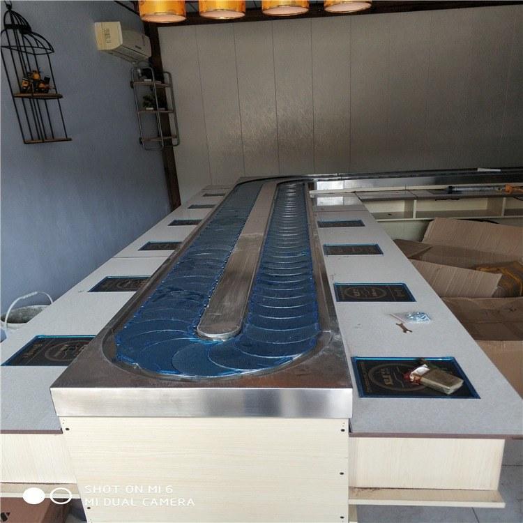 金升 旋转小火锅 回转火锅设备 回转火锅设备厂家 小火锅设备全套