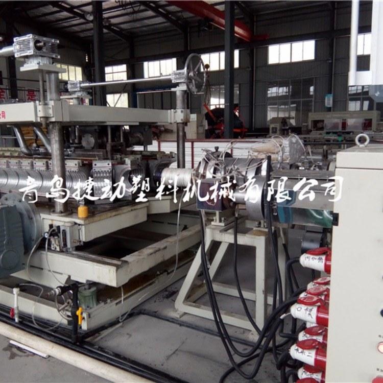 mpp单双壁波纹管设备电缆线套管生产线工艺成熟