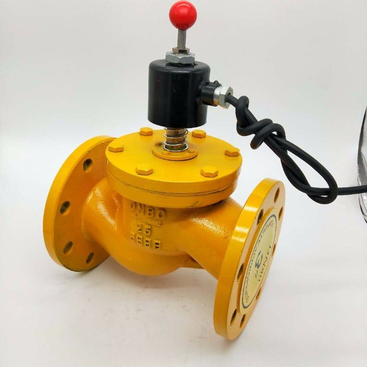 燃气安全紧急电磁阀  ZCRB-16C DN200 ZCRB电磁式紧急切断阀    防爆切断阀