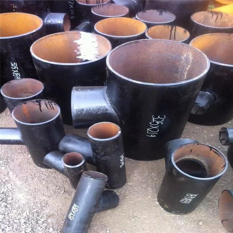 专业生产碳钢四通 不锈钢四通 焊接三通 沧州永泰管件厂家品质