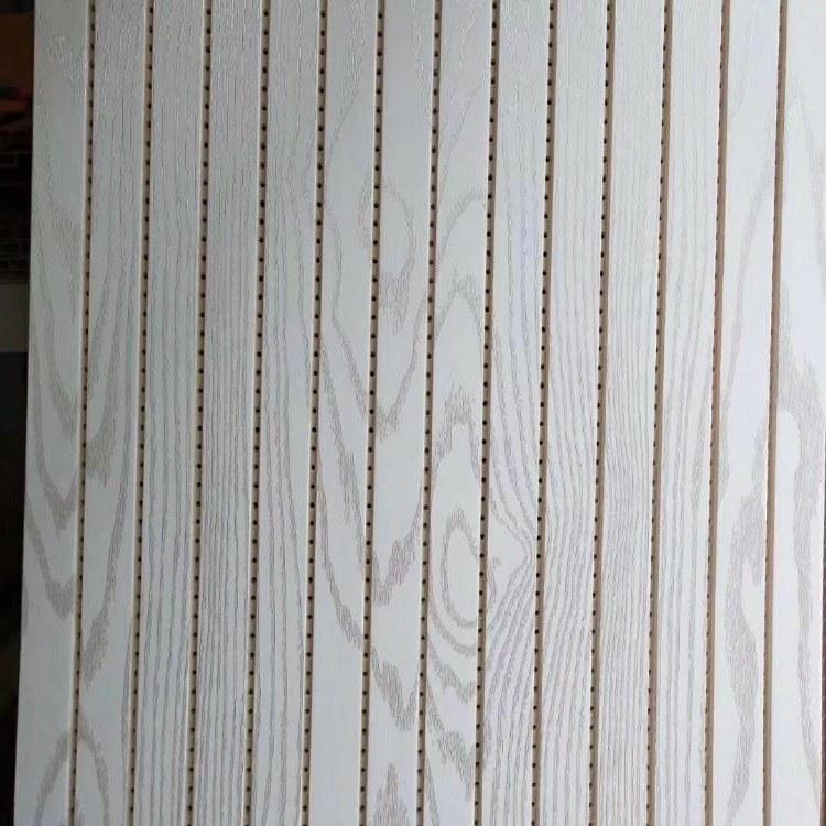 竹木纤维吸音板 鸿运厂家直销定制 吸声板隔声板 墙面装饰材料 防水防潮耐火阻燃