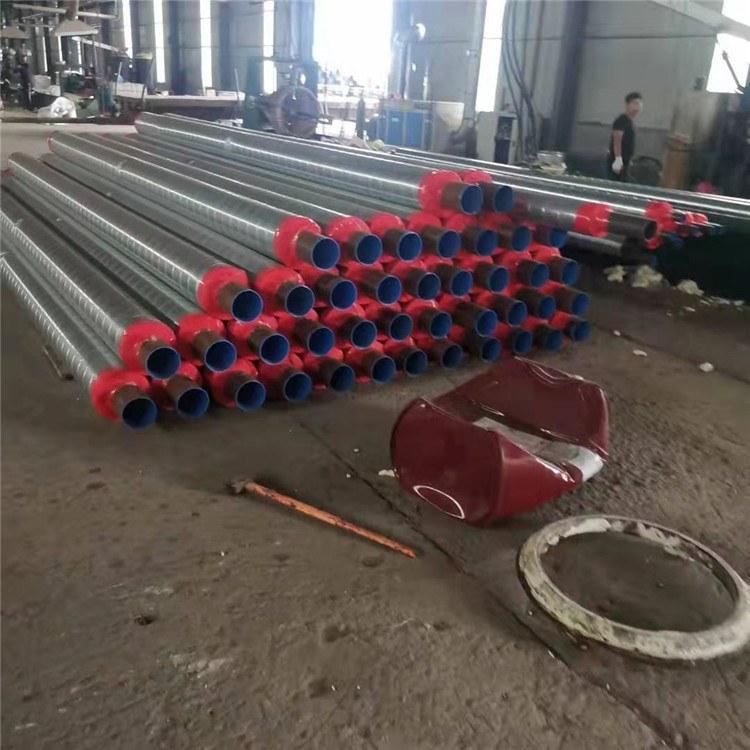 复久管道 生产优质架空高密度聚氨酯保温钢管厂家 供期快