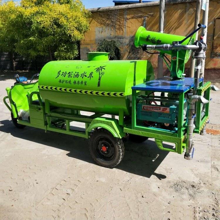 赛达新能源电动三轮洒水车 园林绿化 0.8立方多功能雾炮洒水车