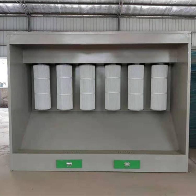 家旭--粉末回收机 塑粉回收柜 小型静电喷塑设备