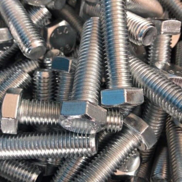 江苏台力德c厂家直供高强度螺栓螺母 淬黑 镀锌 镀彩 外六角规格齐全 现货供应