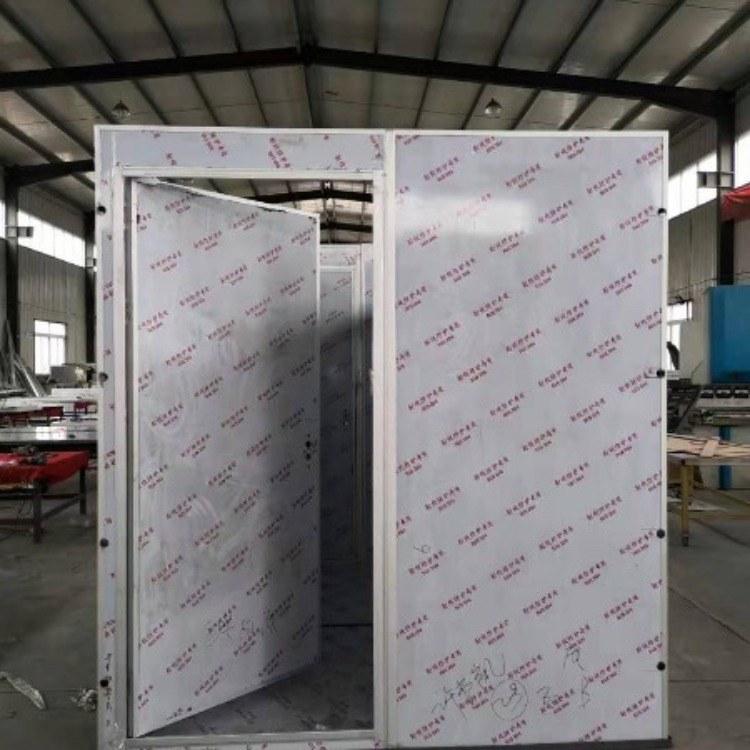 车载式铅房 铅房制作 探伤铅房 射线防护铅房 铅板门施工