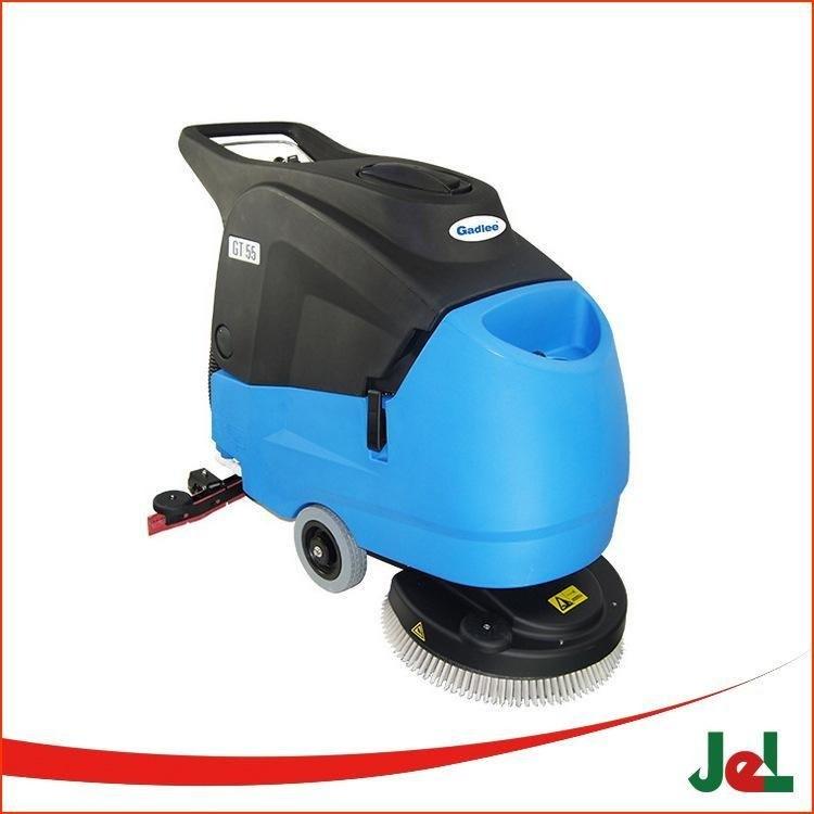 供应嘉得力GT55手推式洗地机 清洁宽度520mm 超静音型 医院专用