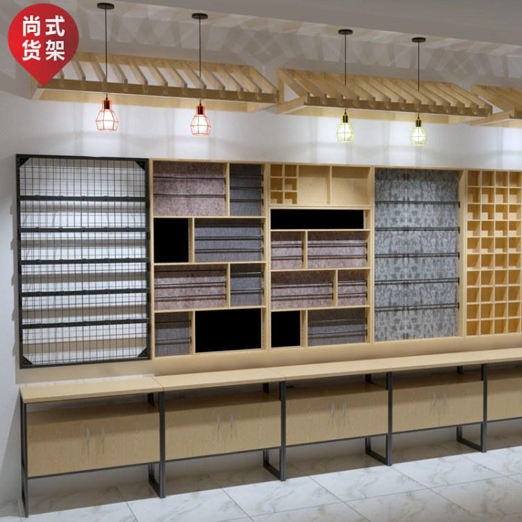 广州白云区二手货架 山东珠宝展示道具 橱窗道具供应商 尚式伶俐饰品店货架
