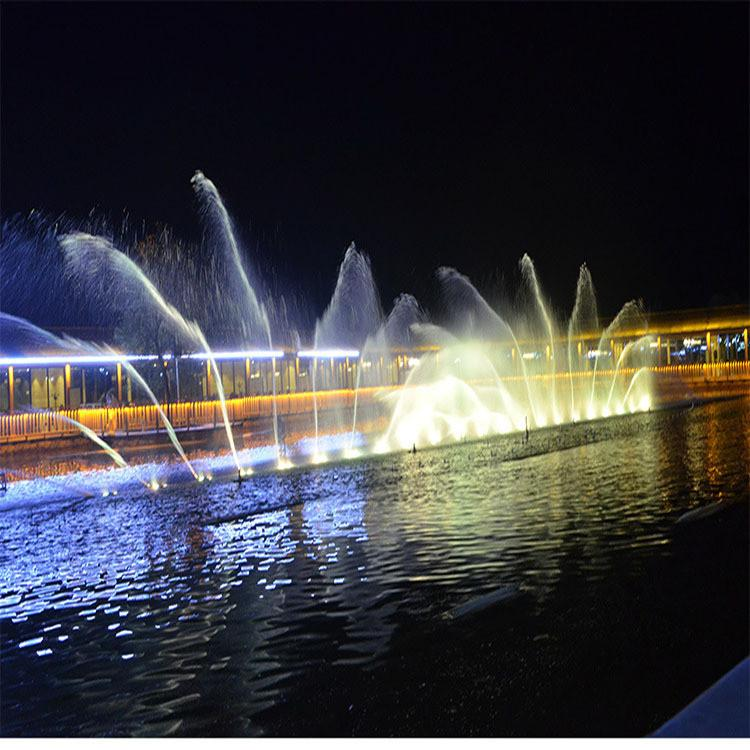 西安大雁塔音乐喷泉 厂家 音乐喷泉 推荐创荣园林
