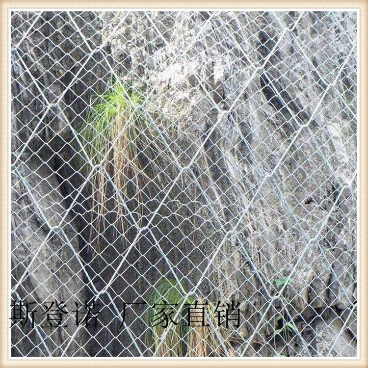 边坡防护钢丝网 TECCO钛克网 环形防护网 斯登诺 环保产品