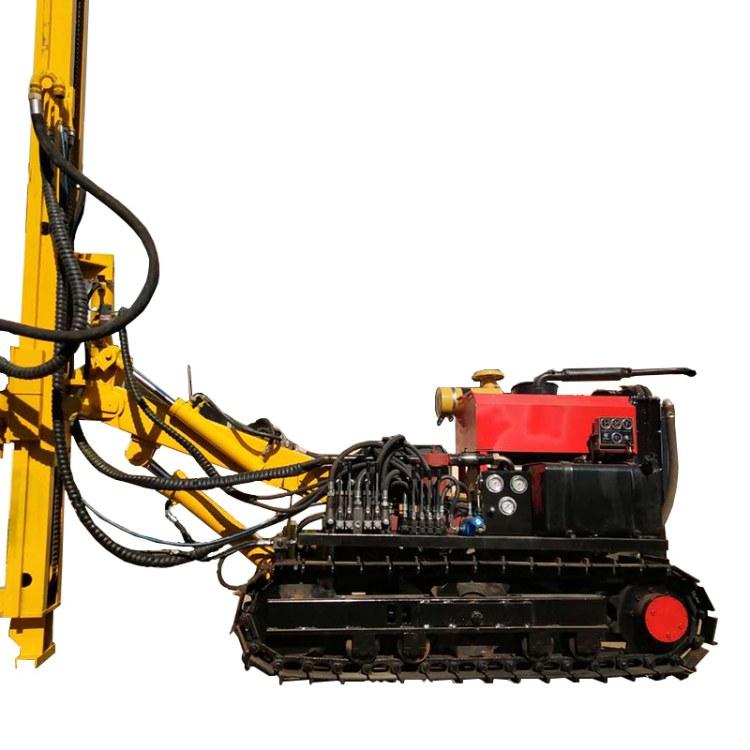 程煤履带式潜孔钻车 勘探爆破潜孔钻机 液压履带潜孔钻机直销