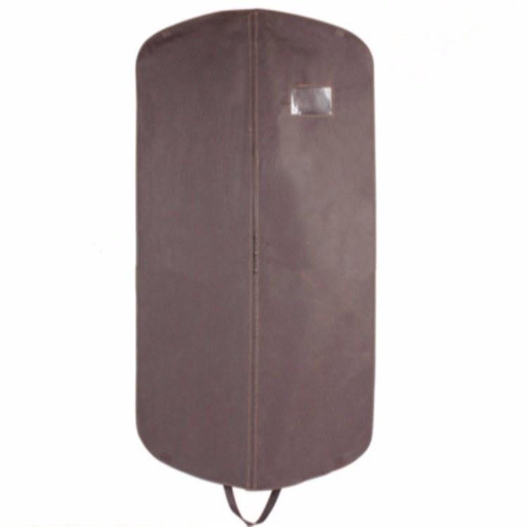 厂家定做-无纺布折叠西服套-挂式手提拉链西装袋-量大价优