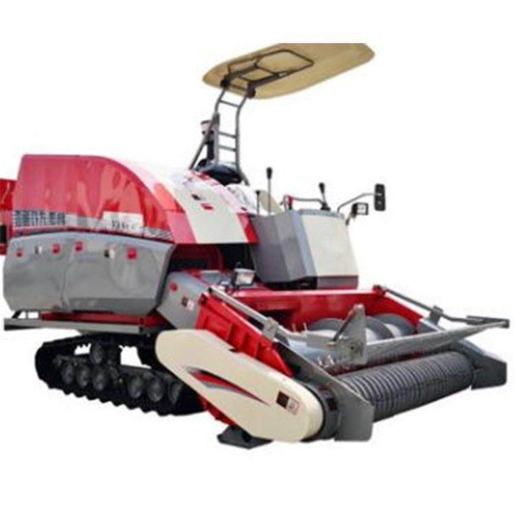 程煤自走式履带打捆机  9YFL-1.9自走式打捆机 直销方草履带捆机