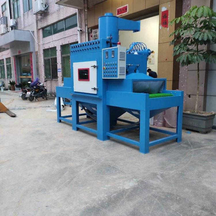 深圳东莞厂家自动喷砂机全自动喷砂机输送式全自动喷砂机