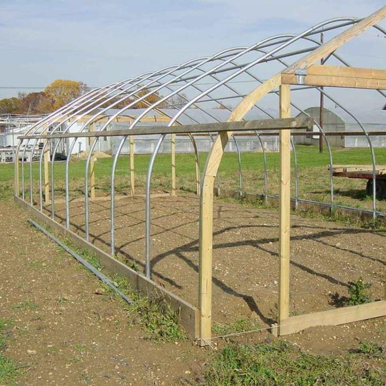 厂家直销温室大棚骨架 定制大棚钢管批发新型养殖大棚骨架