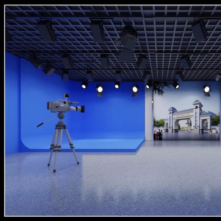虚拟演播室灯光设计安装