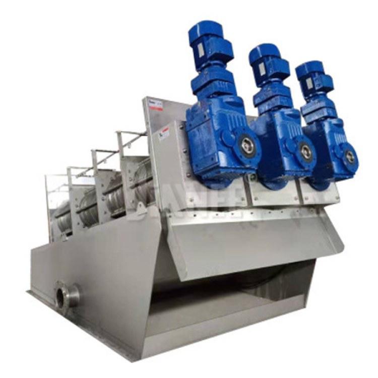 江苏达伟 叠螺压滤机 叠螺污泥脱水设备 叠螺式污泥压滤机