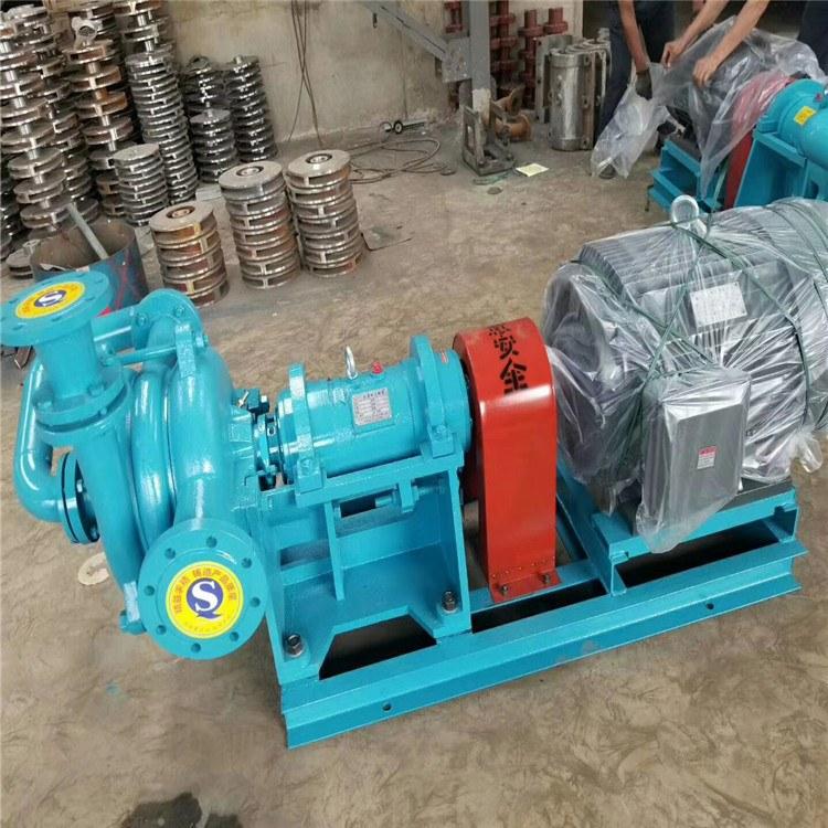 润豪泵业 压滤机专用入料泵生产厂家ZJE压滤机配套喂料加压泵价格