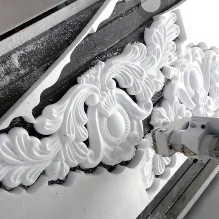 EPS线条厂家 EPS泡沫浮雕欧式别墅外墙装饰 门头三角形山花室外墙面花板雕花  赢创建筑