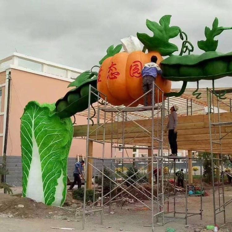 丰景园林 仿真树 新款仿真榕树桃花树 室内装饰商场落地塑料绿植假树棕榈树 室内假树 生态大门