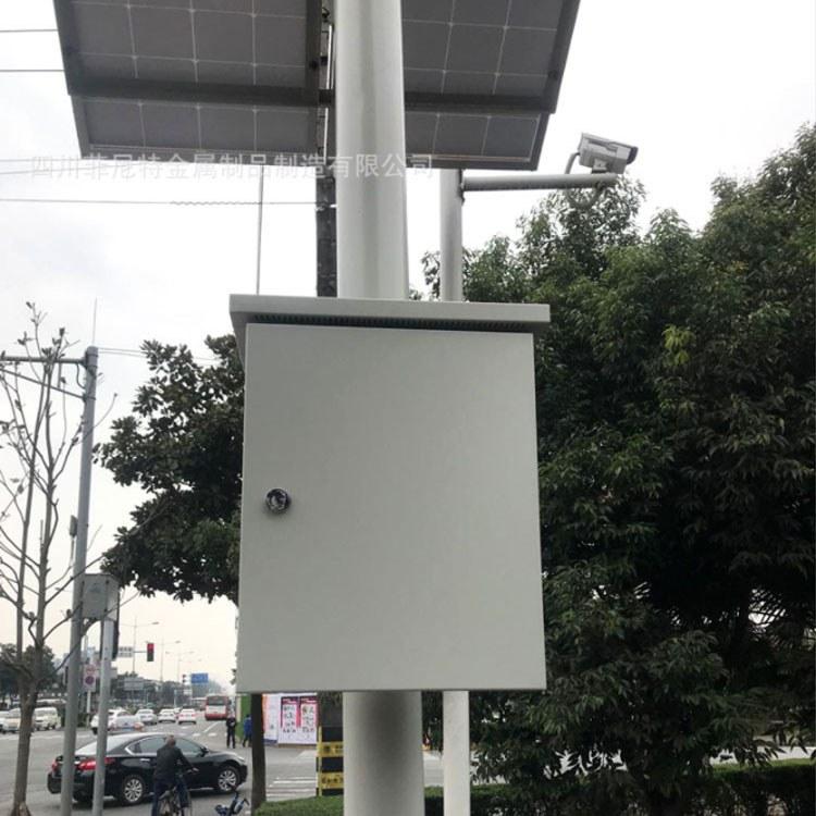 太阳能路灯杆厂_成都监控立杆 成都太阳能监控立杆厂家 支持定制服务  认准菲尼特