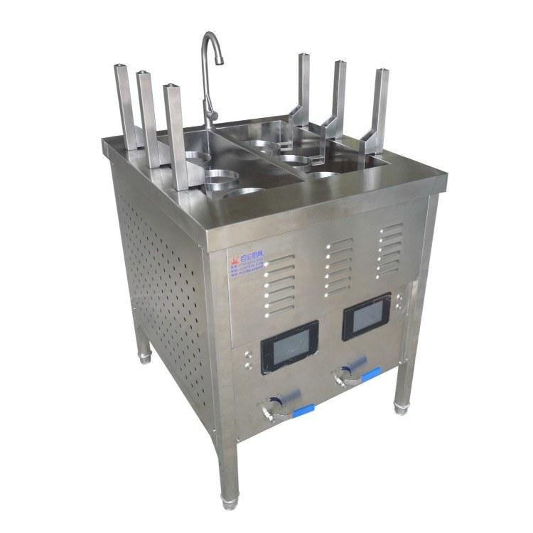 六头升降自动煮面炉 自动煮面炉 巨伦 厨具生产厂家