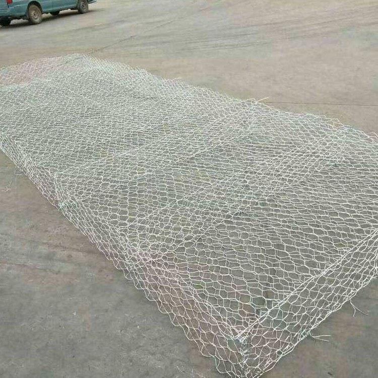 铁丝水渠雷诺护垫铅丝石笼 PVC包塑河道雷诺护垫铅丝石笼 PVC包塑格宾笼 佳航大量现货供应