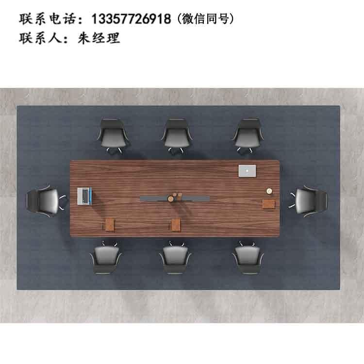 厂家直销 简约商务会议台 公司油漆会议桌 开会桌厂条桌HD-07