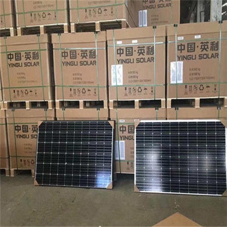 厂家高价太阳能组件板回收 太阳能电池板回收 光伏组件收购 苏州热之脉