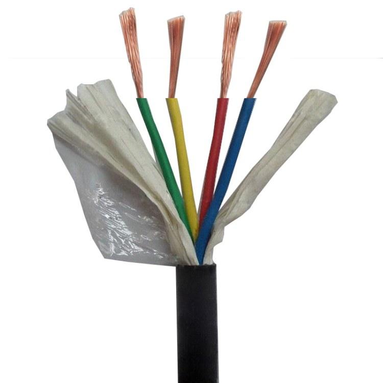 湖南丰旭国标护套线 厂家直销重庆4*0.5/0.75/1.0/1.5/2.5弱电线缆厂家直销3C认证