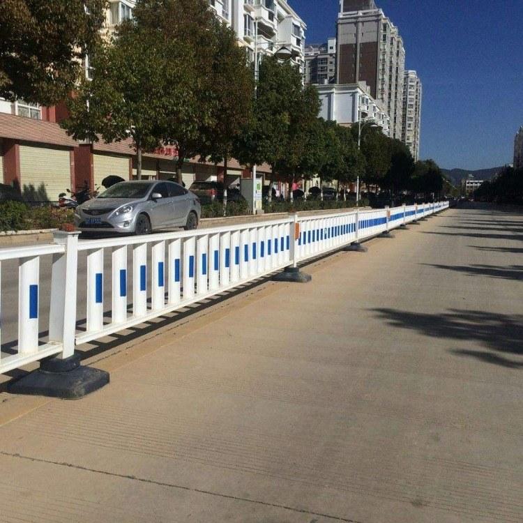 厂家供应热镀锌市政绿化道路隔离防护栏 公路交通安全道路护栏