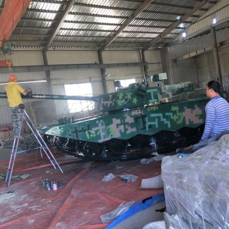定做军事爱国教育学习大型军事模型1:1仿真坦克飞机模型均可来图定制