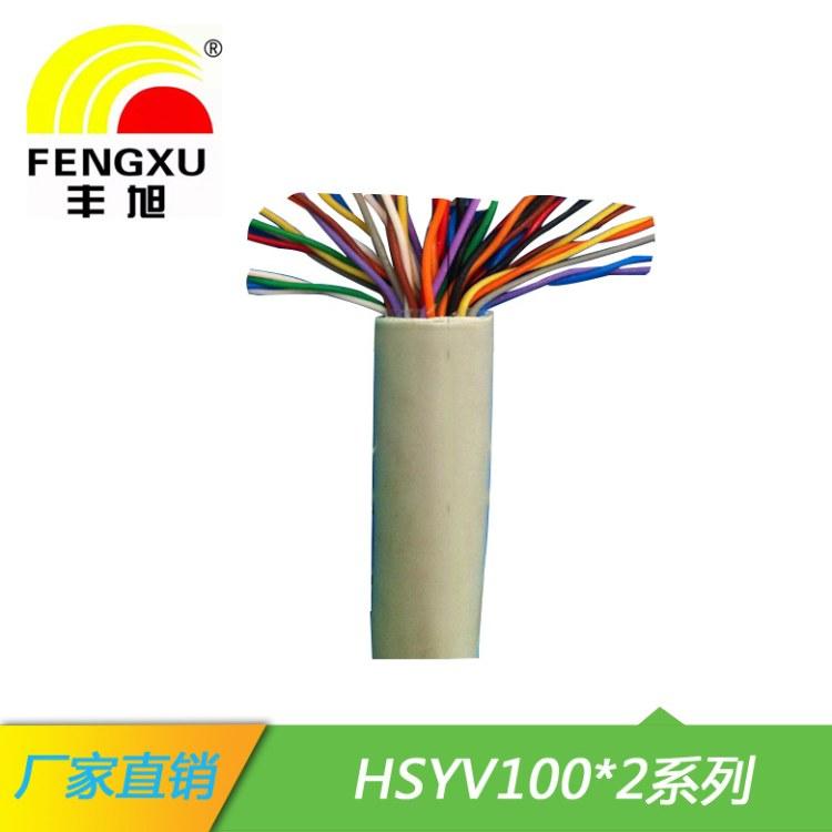 湖南丰旭国标100对室内大对数HSYV100对通信电缆电信屋内电话通讯网络线