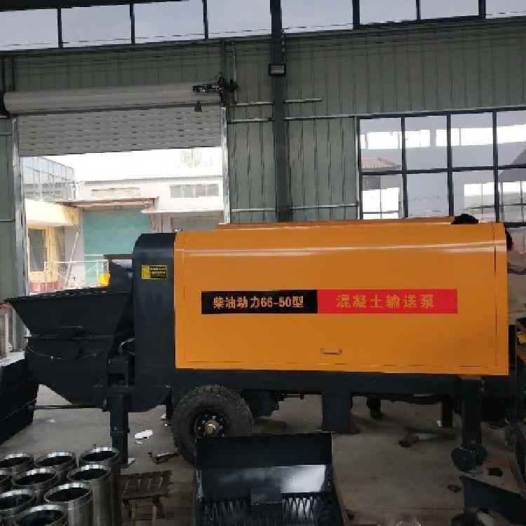 大颗粒输送泵供应水泥混凝土输送泵小型砂浆细石输送泵