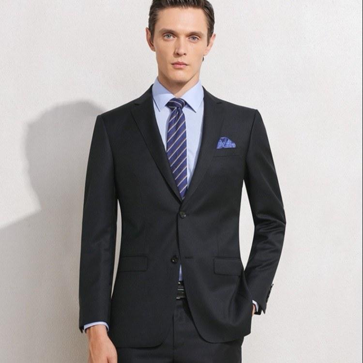 佛山男女西装厂家现货西装批发零售 男女西装免烫 一套西装代发