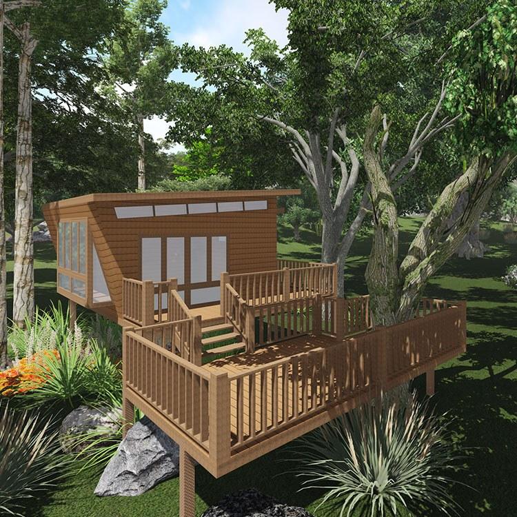 木屋 腾龙装配式房屋公司 专业承接 价格合理