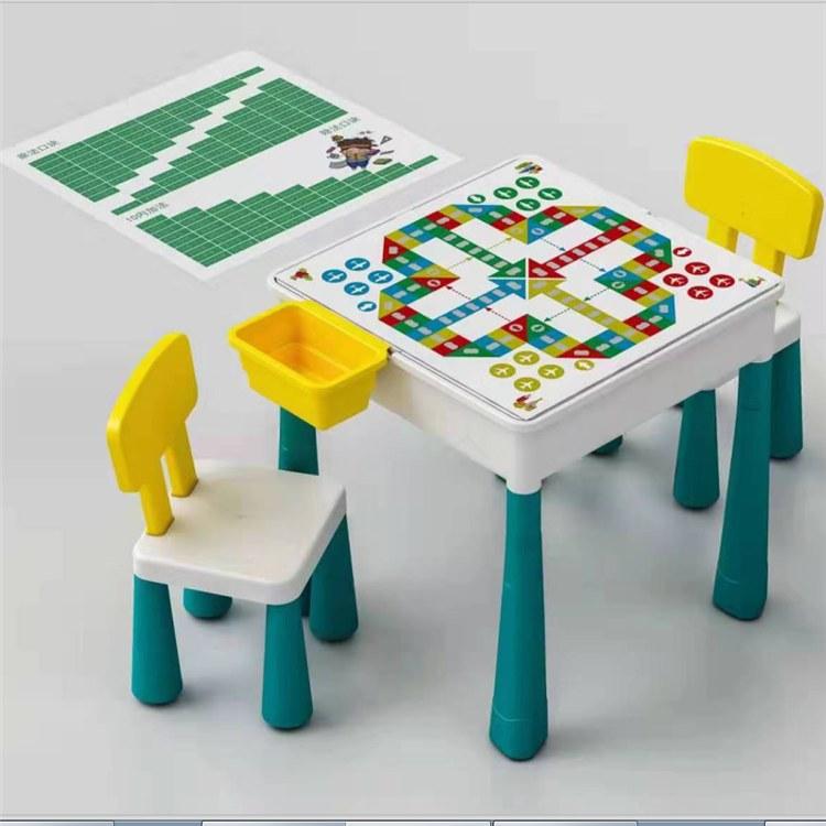 儿童积木桌  积木玩具桌  博康生产  厂家价格  物美价廉