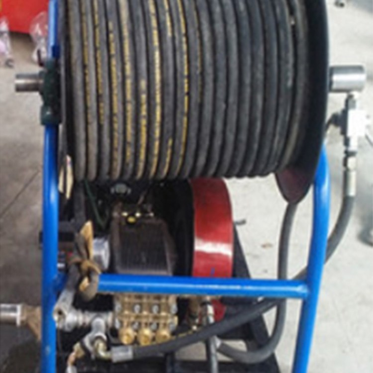 程煤高压水管疏通器   市政专用下水道清洗机  学校食堂管道疏通器