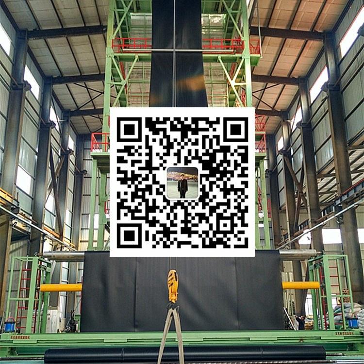 金驰华易2.0mm厚HDPE土工膜美标黑色幅宽8米长度50米一件400平米批发