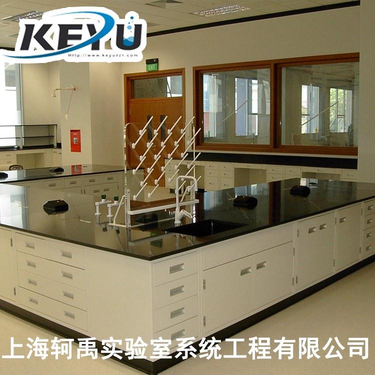 检测实验室试验台定制 净化实验室装修 实验室设备家具批发