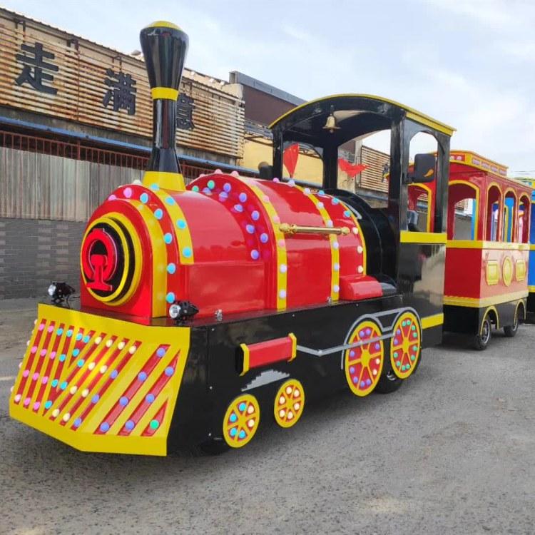 儿童游乐园电动小火车价格 儿童电动游乐火车 赚钱好项目