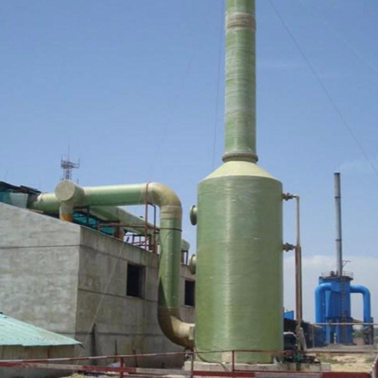 锐驰朗 定制砖厂玻璃钢脱硫塔 脱硫除尘器-窑炉石灰除尘器-高效净化