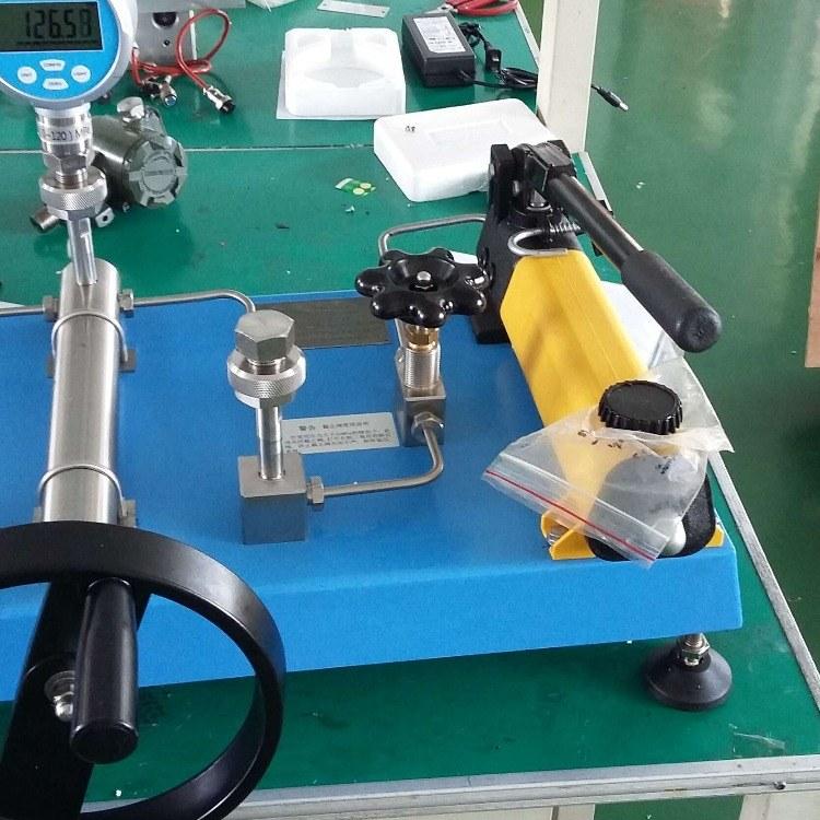 高压压力校验台100mpa-250mpa介质水或油ATE2000金湖中泰仪表厂家直销