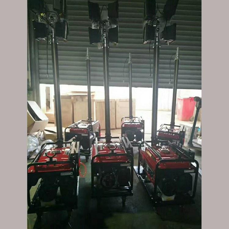 程煤工程移动照明车  4KW移动照明设备遥控自动升降车 户外照明车