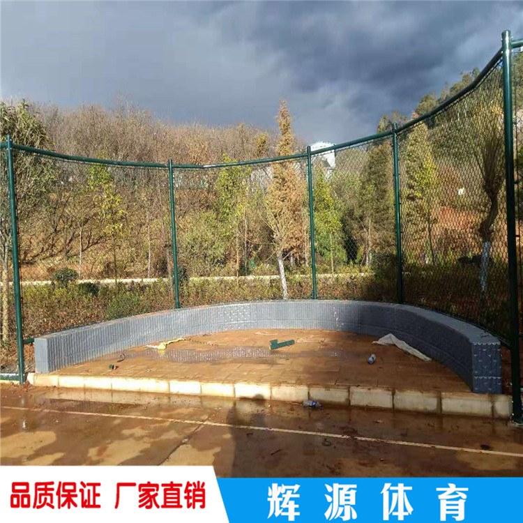 河南笼式球场围网 羽毛球场护栏尺寸 拼装式围网价格
