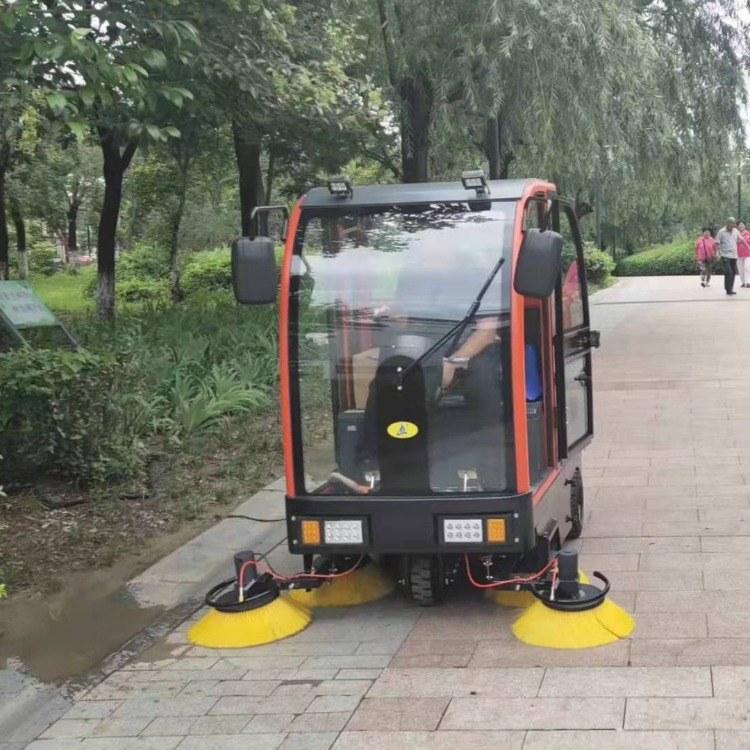 洗地机机械设备-电动洗地机-售后保障-工厂物业扫地车报价